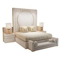 3D model fertini casa set bed