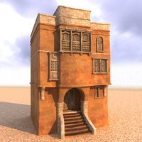 arabian house 3D model