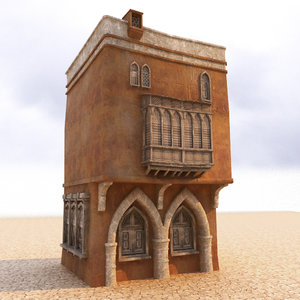 3D model arabian house