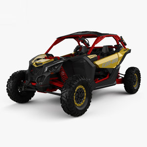 3D brp can-am maverick