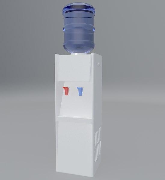 water dispenser carboy su 3D model