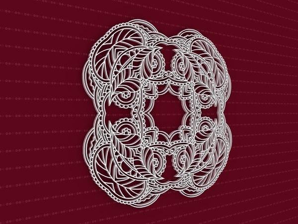 3D mandala cnc