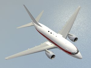 boeing 737-600 janet airlines 3D model