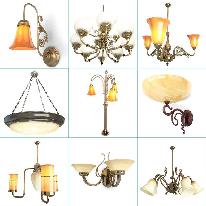Antique Lamps Pendant Lights Model