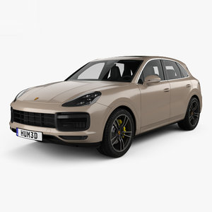 porsche cayenne turbo model