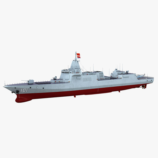 chinese navy type 055 model