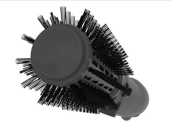 3D straightener hair accessories model