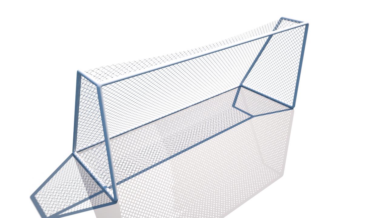 football net games soccer 3D model