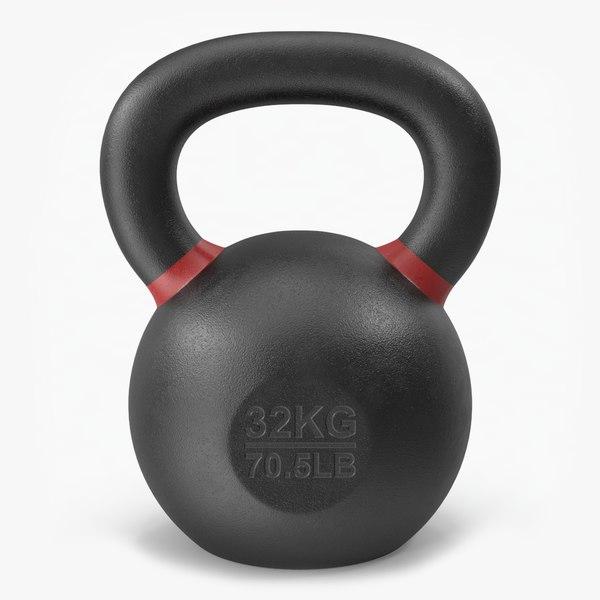 3D kettleball 32kg