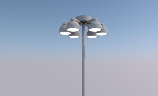 street lamp light streetlamp 3D model