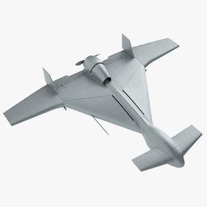 3D model iai harop uav