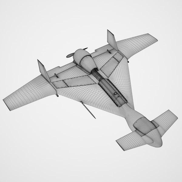 modèle 3D de IAI Harop UAV - TurboSquid 1441457
