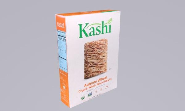 kashi cereal 3D model