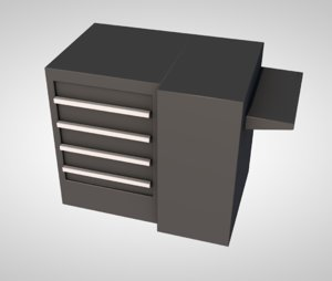 3D copier copy machine model