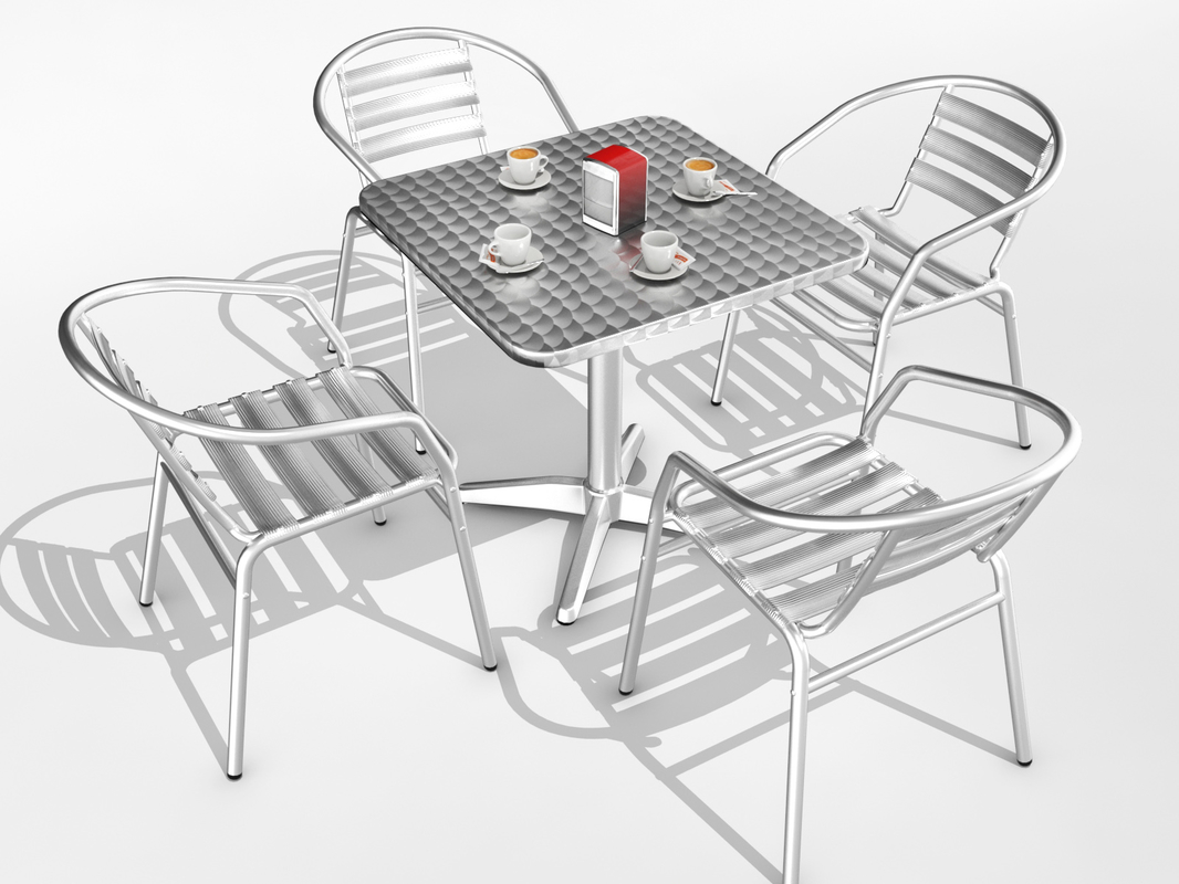 3D pack terrace coffee cup