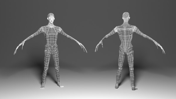 3D zombie animations