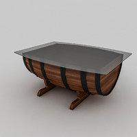 cask table model