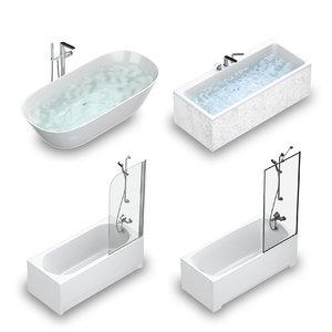3D set baths villeroy boch