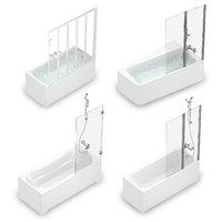 set baths ravak 54 model