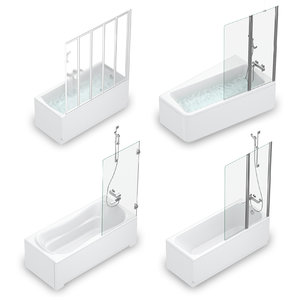 set baths ravak 54 model