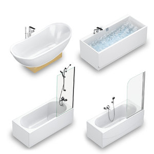 3D villeroy boch bath set model