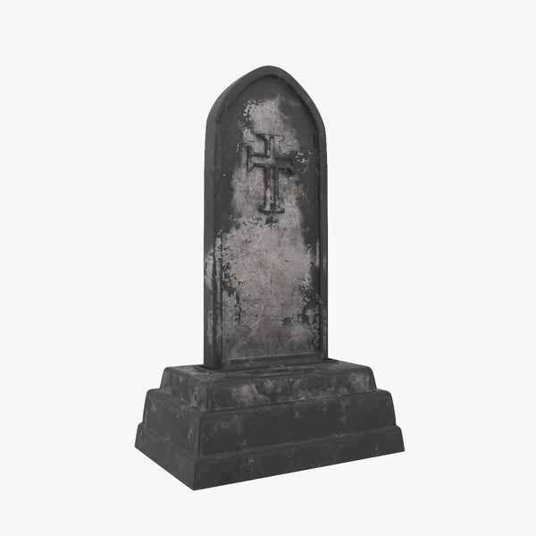 tumbstone v1 3D model