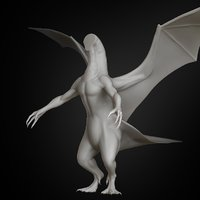 dragon body concept 2019 3D