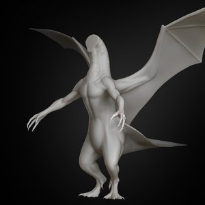 dragon body concept 2019 3D