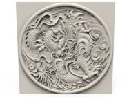 Dragon relief 340