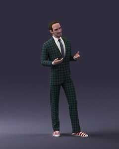 man showman model