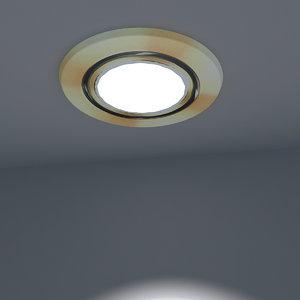 3D spotlight ready light