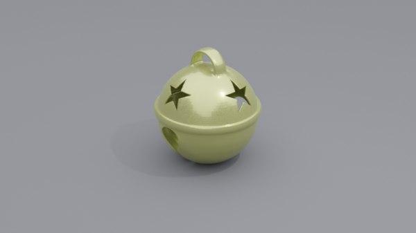 cat bell 2 3D model