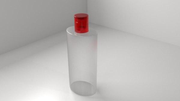 3D plastic bottle 8