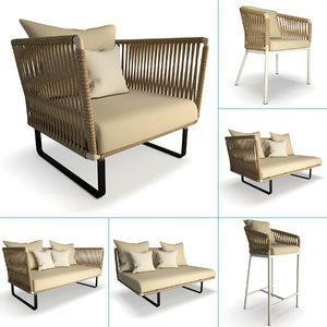 set furniture bitta kettal model
