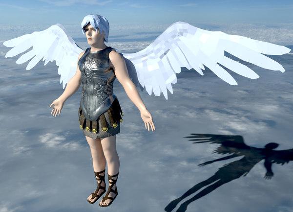 3D character creatures model