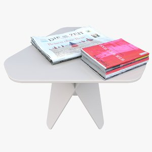 3D sidetable table