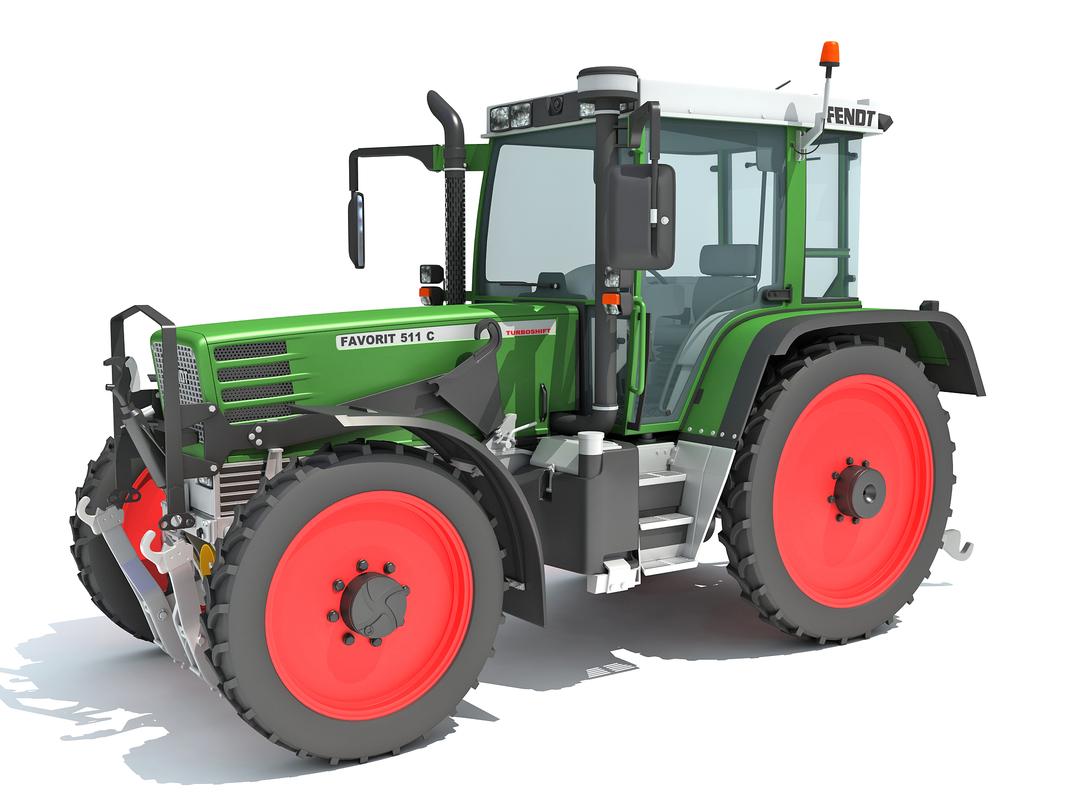fendt tractor 3D model