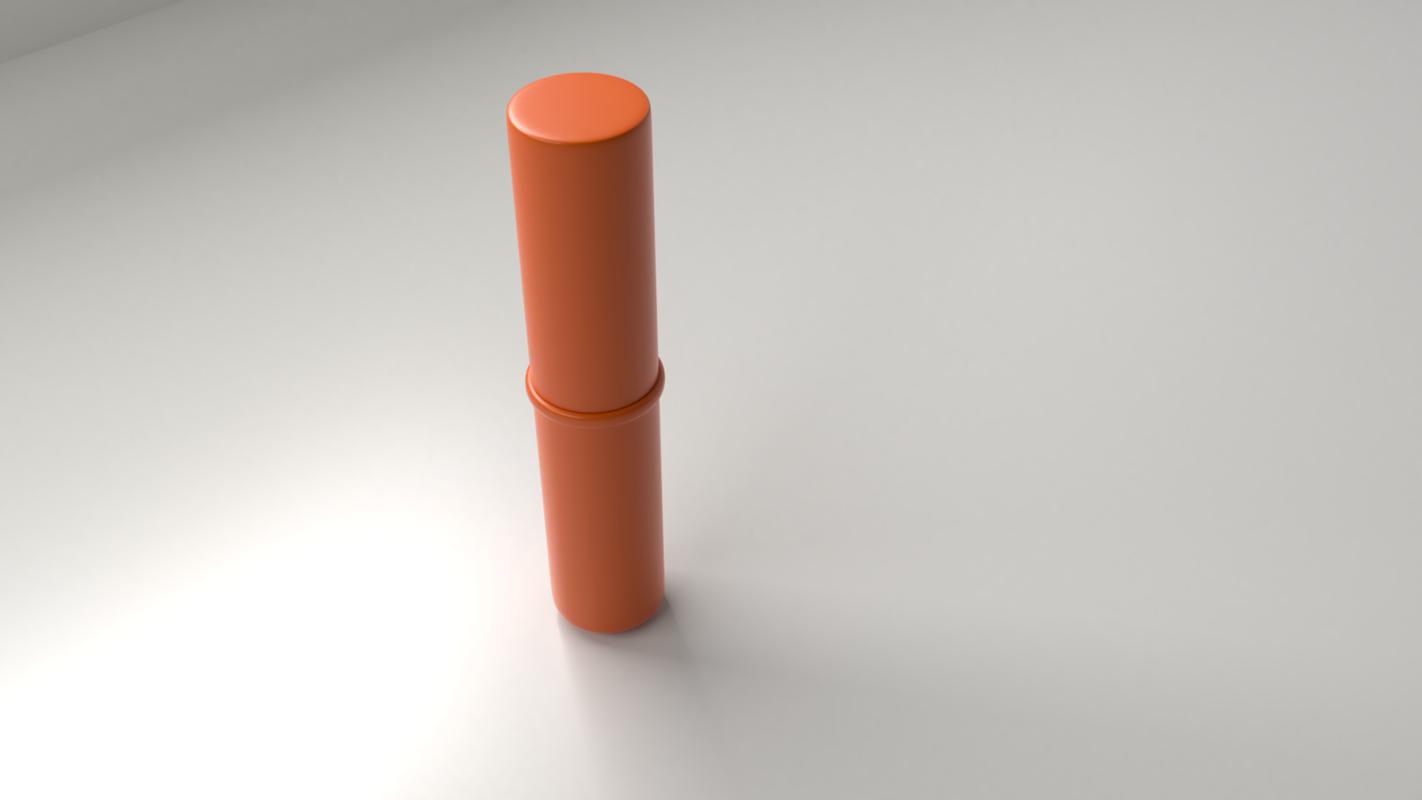 lipstick 1 - orange 3D