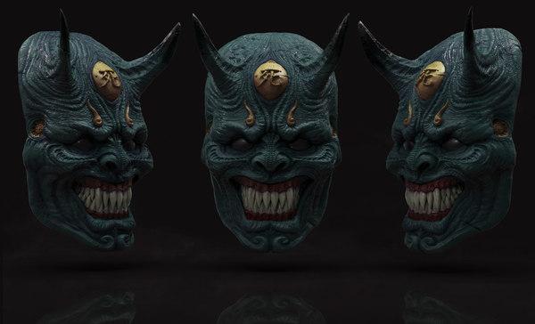 mask zbrush model