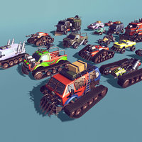 3D cars customizable model