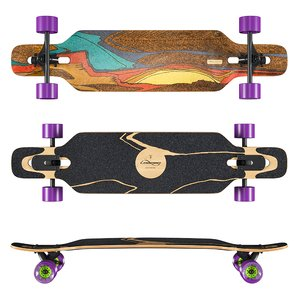 3D longboard loaded icarus