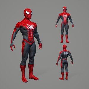 3D pbr spiderman