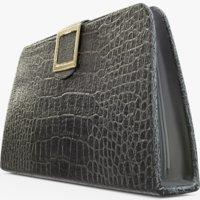 purse clutch 3D model