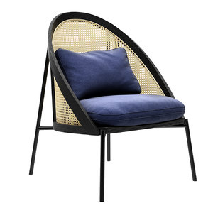 3D model loie lounge chair gebruder