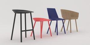 houdini chair 3D model