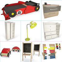 racing car bed toys model