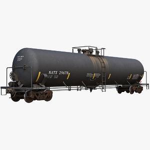 tank car t108 3D model