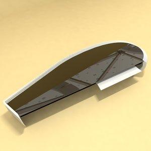 designer table number 4 3D