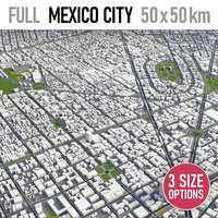 mexico city area model
