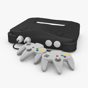 3D model classic 64bit console
